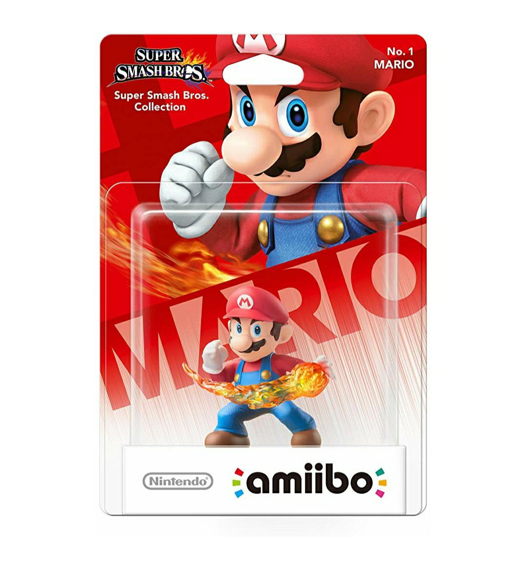 Figurine Nintendo Amiibo Super Smash Bros - Mario