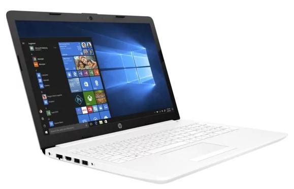 """PC Portable 15.6"""" HP 15-DB0046NF - AMD A4-9125,4 Go de Ram, 1 To, Blanc + 10€ en bon d'achat"""