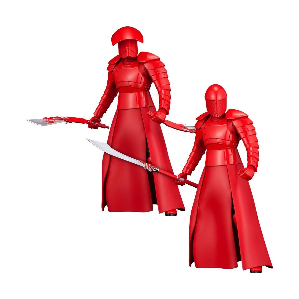 Pack de 2 Statuettes KOTOBUKIYA ARTFX+ ELITE PRAETORIAN GUARDS - Star Wars Episode VIII -(Frais de livraison et taxes Incluses)