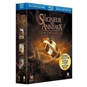 Blu-Ray Le Seigneur des Anneaux 3: La trilogie