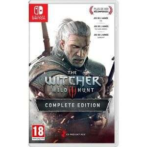 The Witcher 3 : Wild Hunt - Complete Edition sur Nintendo Switch