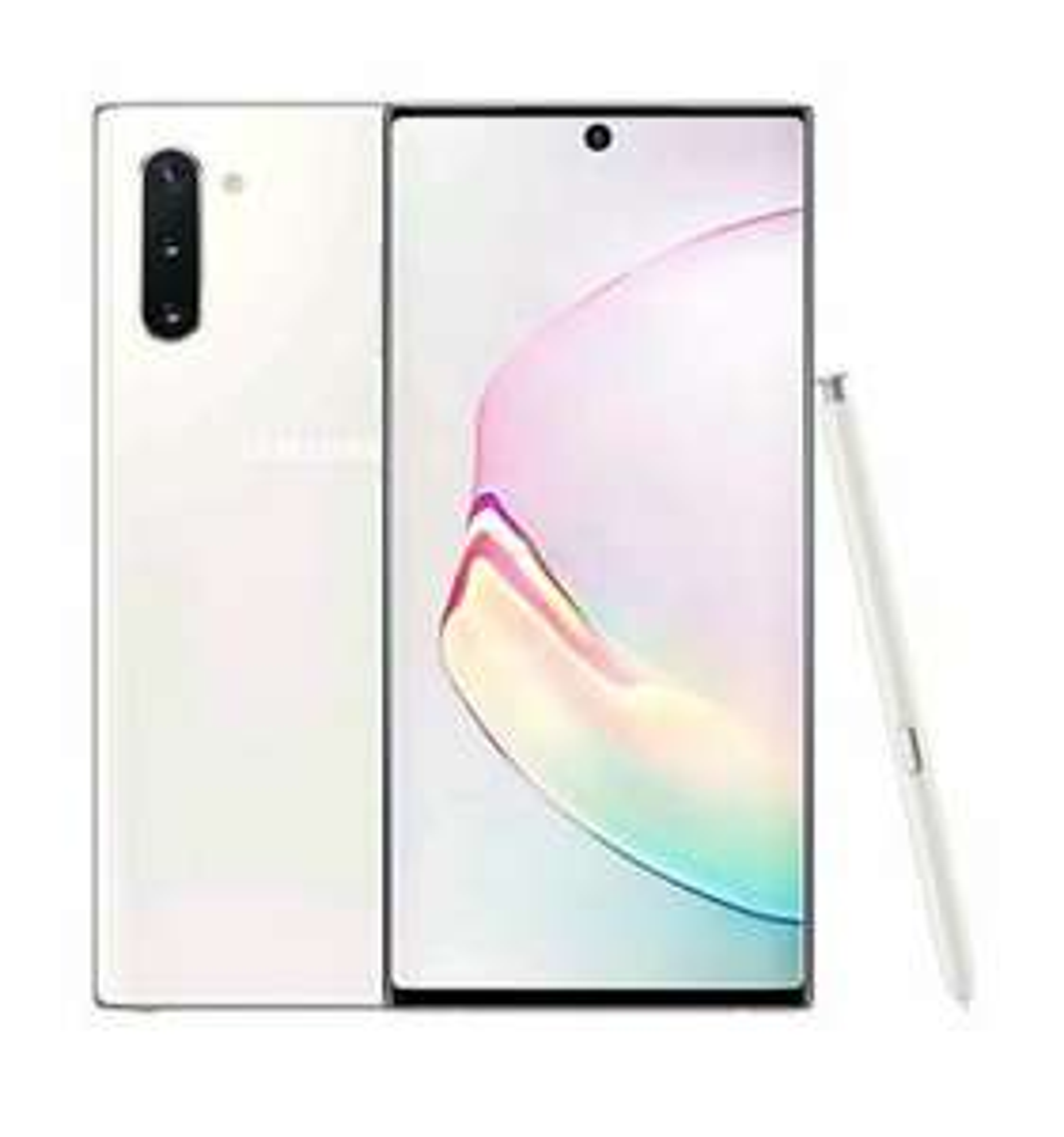"Smartphone 6.3"" Samsung Galaxy Note 10 - 256 Go, Blanc (645.64€ via le code PTECHOCT19)"