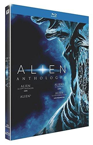 Coffret Blu-Ray Alien Anthologie (4 films)