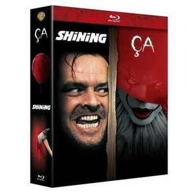 Coffret Blu-ray Horreur incontournables - Ça (2017) + Shining