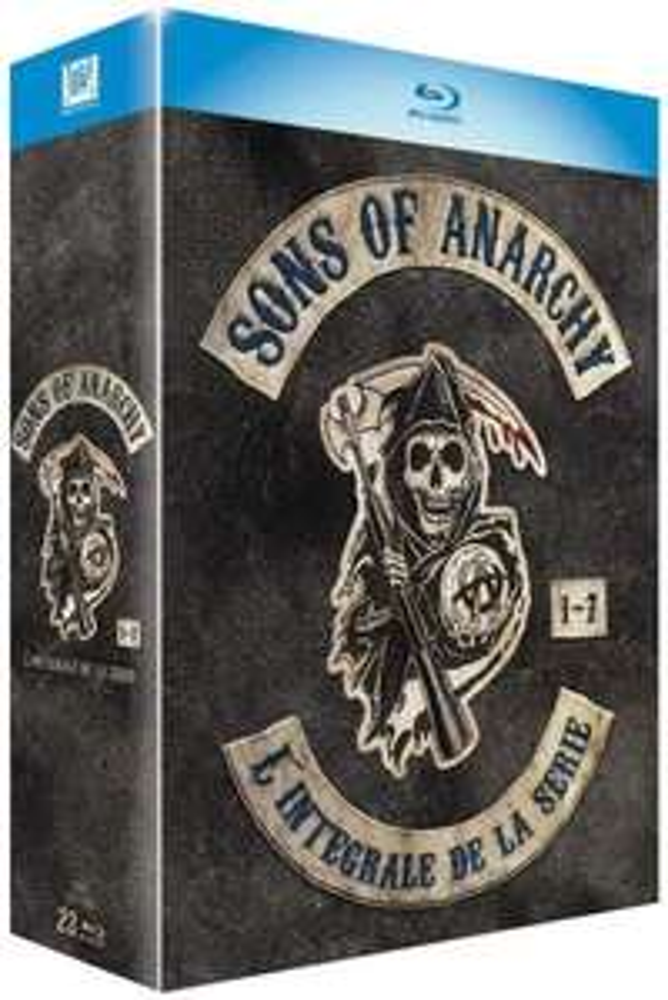 Coffret Blu-ray : Sons of anarchy intégrale 1 à 7 - VOSTFR