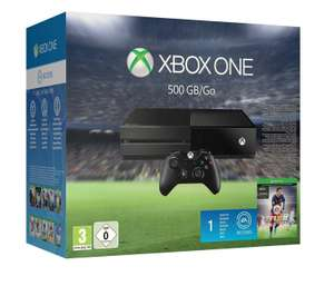 Console Xbox One 500 Go +  Fifa16 + 1 Jeu parmi : Halo 5, Rise of the Tomb Raider, Forza Motorsport ou Call of Duty Black Ops 3