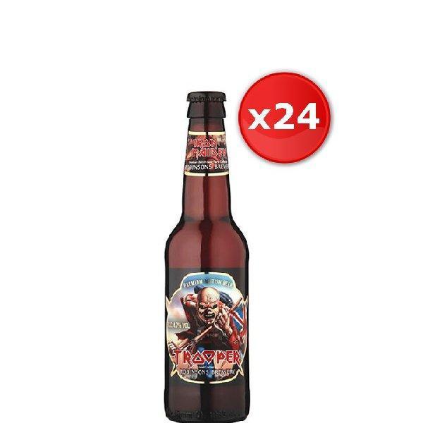 jusqu'a -30% sur une selection de bière - Ex : Bière Trooper Iron Maiden - 24*33 cl