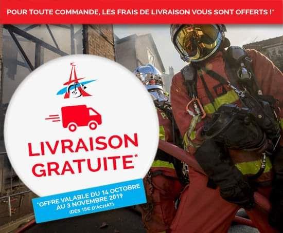 Livraison offerte dès 15€ (pompiersparis.jordenen.com)