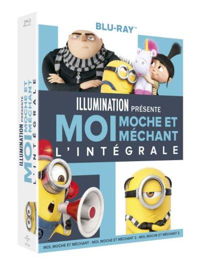 Coffret Blu-Ray Moi moche et méchant l'intégrale