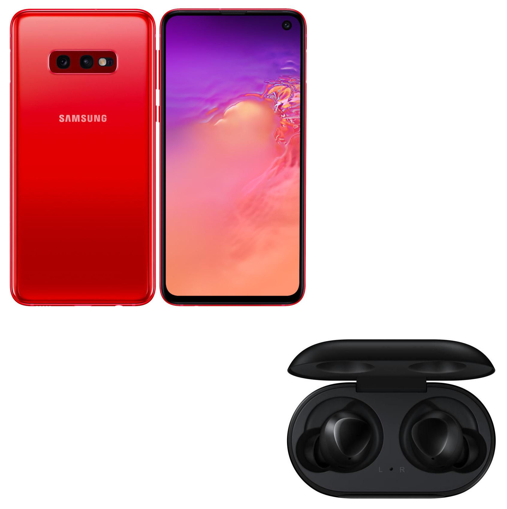 """Smartphone 5.8"""" Samsung Galaxy S10e (Coloris au choix) + Écouteurs sans fil Samsung Galaxy Buds (Noir ou Blanc) - Via ODR de 150€"""