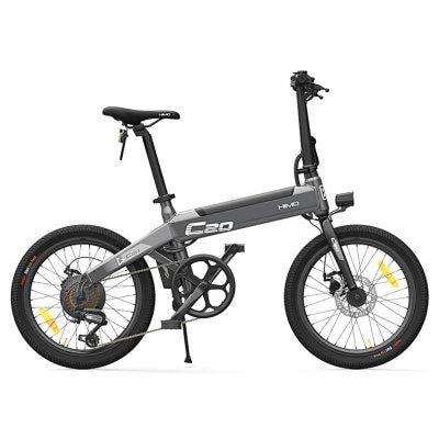 Vélo électrique pliable Xiaomi HIMO C20 - 10Ah, 250W, Gris ou Blanc (Entrepôt Pologne)