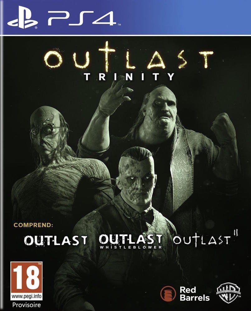 Jeu Outlast Trinity sur PS4