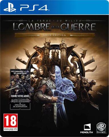 La terre du Milieu : L'ombre de la guerre Gold Edition sur PS4
