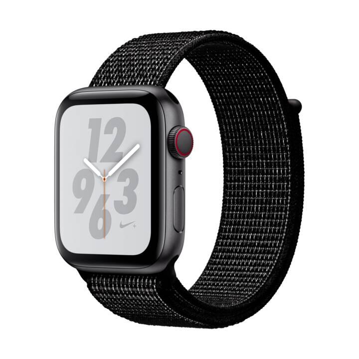 Montre connectée Apple Watch Series 4 Nike + GPS + Cellulaire - 44mm avec bracelet sport Nike, Gris (Frontaliers Suisse)