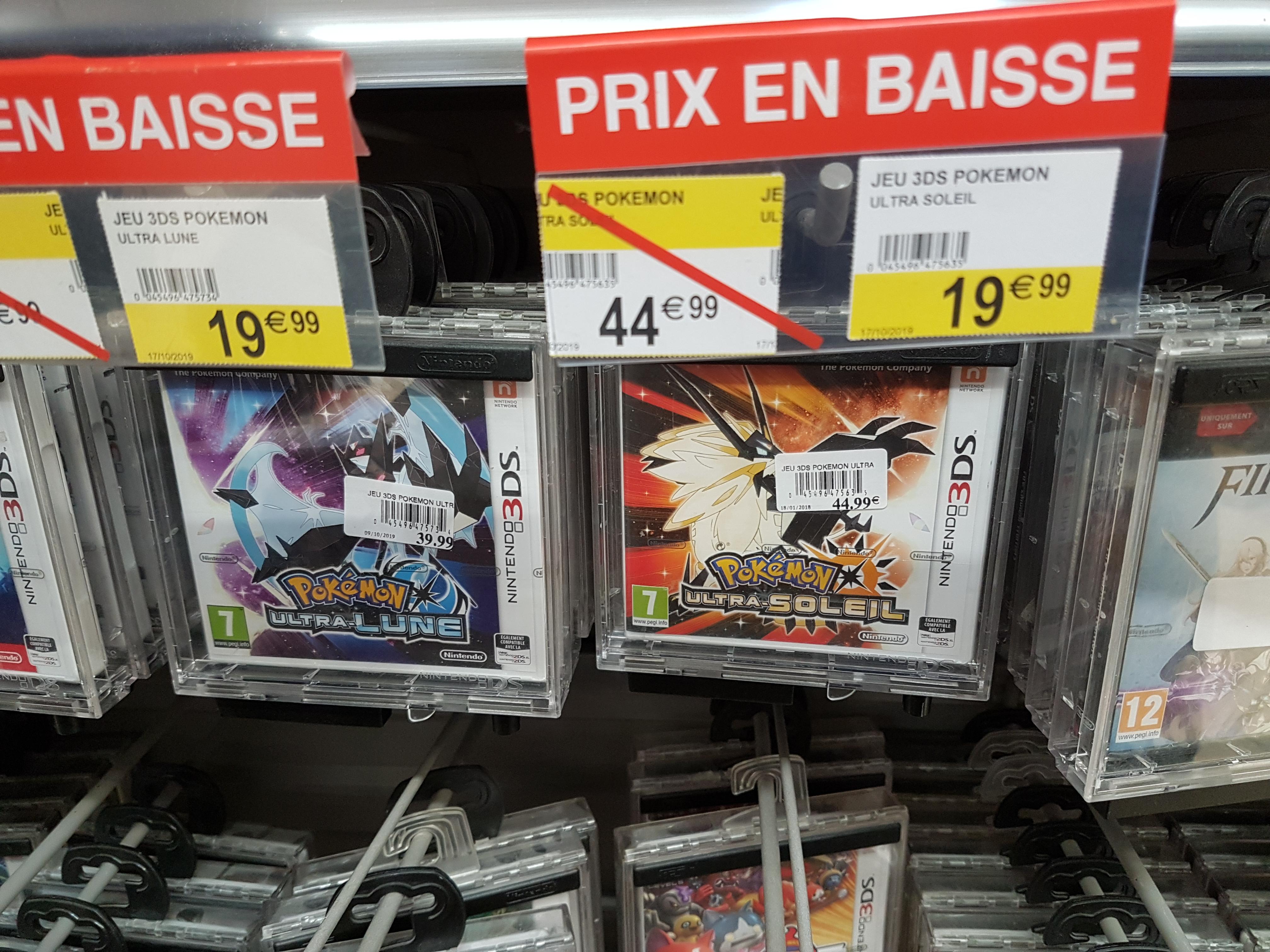 Jeu Pokémon Ultra-Soleil ou Pokémon Ultra-Lune sur 3DS - Allier (03)