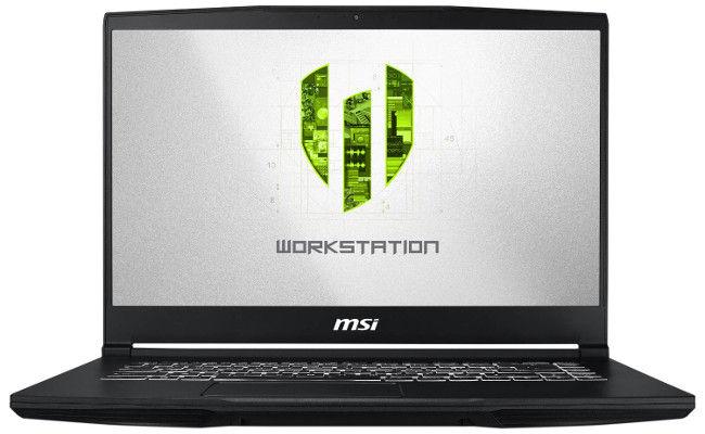 PC Portable 15.6'' MSI WP65 9TH-412FR - Full HD, i7-9750H, 16 Go RAM, SSD 256 Go, HDD 1 To, Nvidia Quadro P620, Windows 10