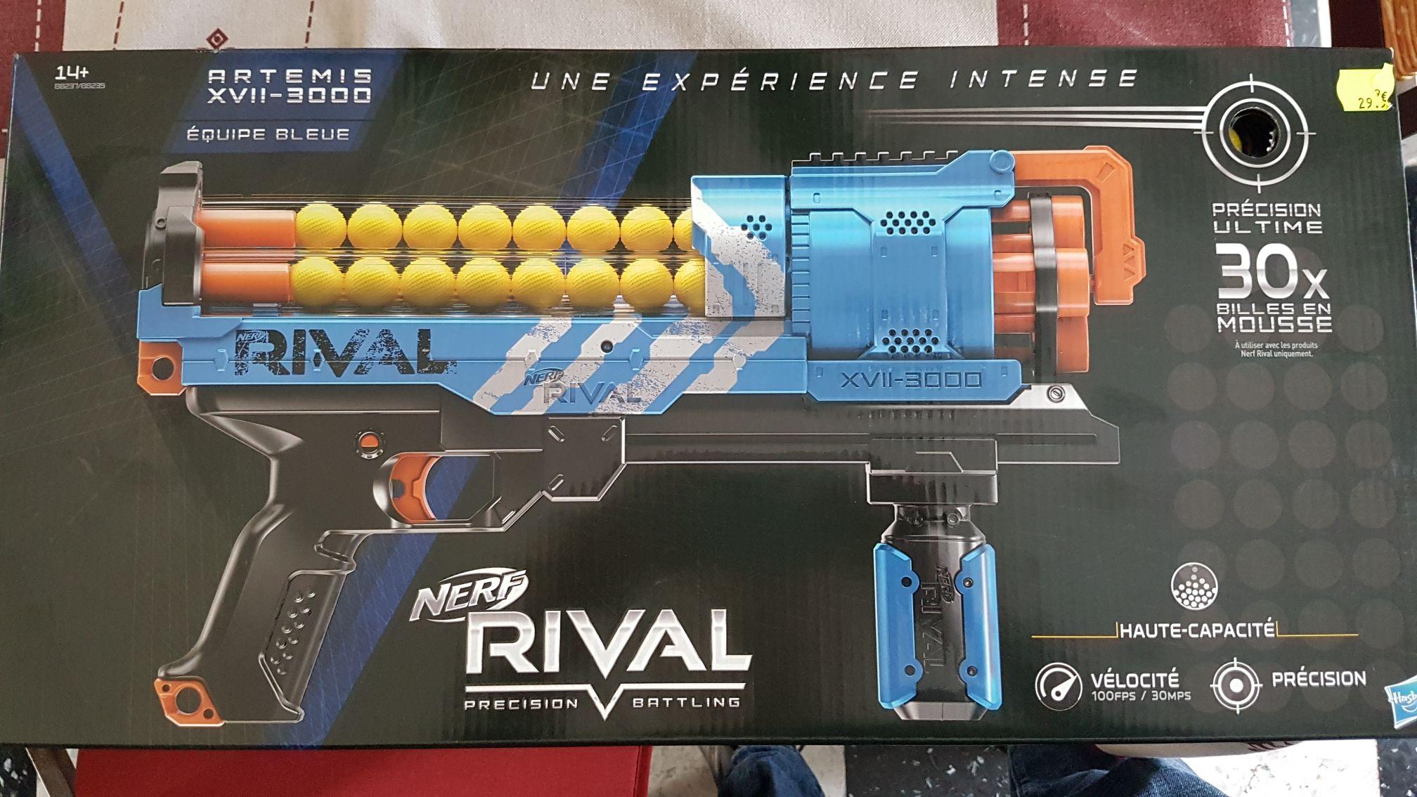 Pistolet NERF Rival Artemis - Vendin-le-Vieil (62) / Seclin (59)