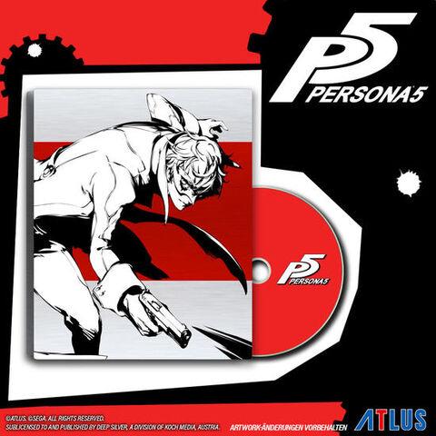 Steelbook Persona 5 Day One sur PS4 (Dans une sélection de magasin)