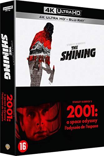 Coffret Blu-Ray Shining 4k + 2001 l'odyssée de l'espace