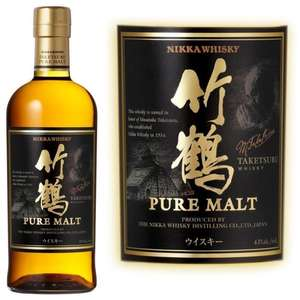 Whisky Japonais Nikka Taketsuru Pure Malt (70cl, 43°)