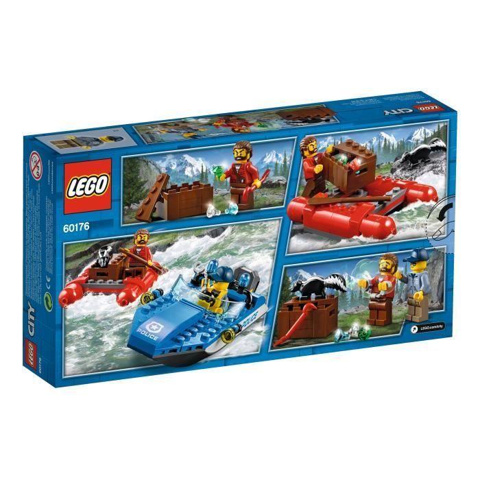 Jeu de construction Lego 60176 - L'arrestation en hors-bord (Vendeur tiers)