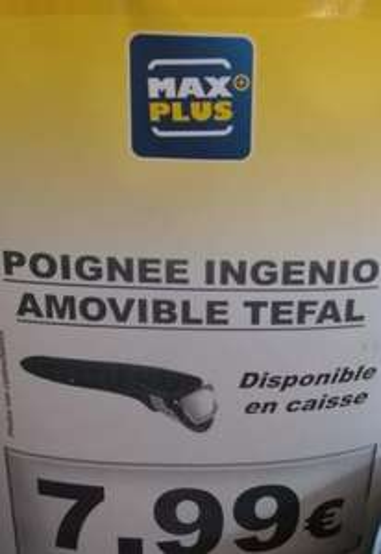 Poignée amovible ingenio Tefal - Maxplus Quiberon (56)