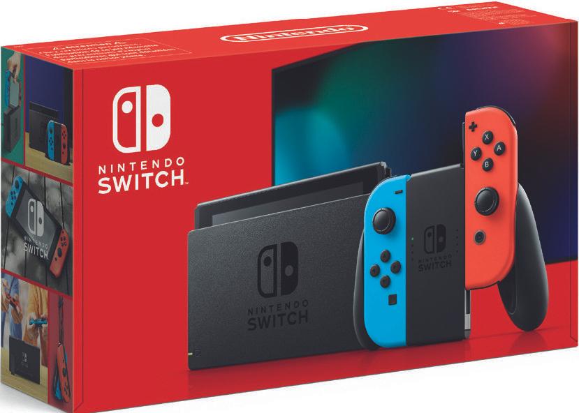 Console Nintendo Switch 2019 avec paire de Joy-Con Bleu/rouge ou Gris (via 50 € en bon d'achat) - Wattrelos (59)