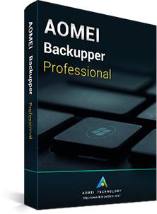 Logiciel Aomei Backupper Professional 5.3 Gratuit sur PC pendant 1 an (Dématérialisé)