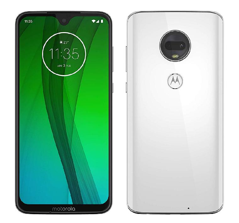 "Smartphone 6.2"" Motorola Moto G7 - 4Go RAM, 64Go ROM, Android 9.0"