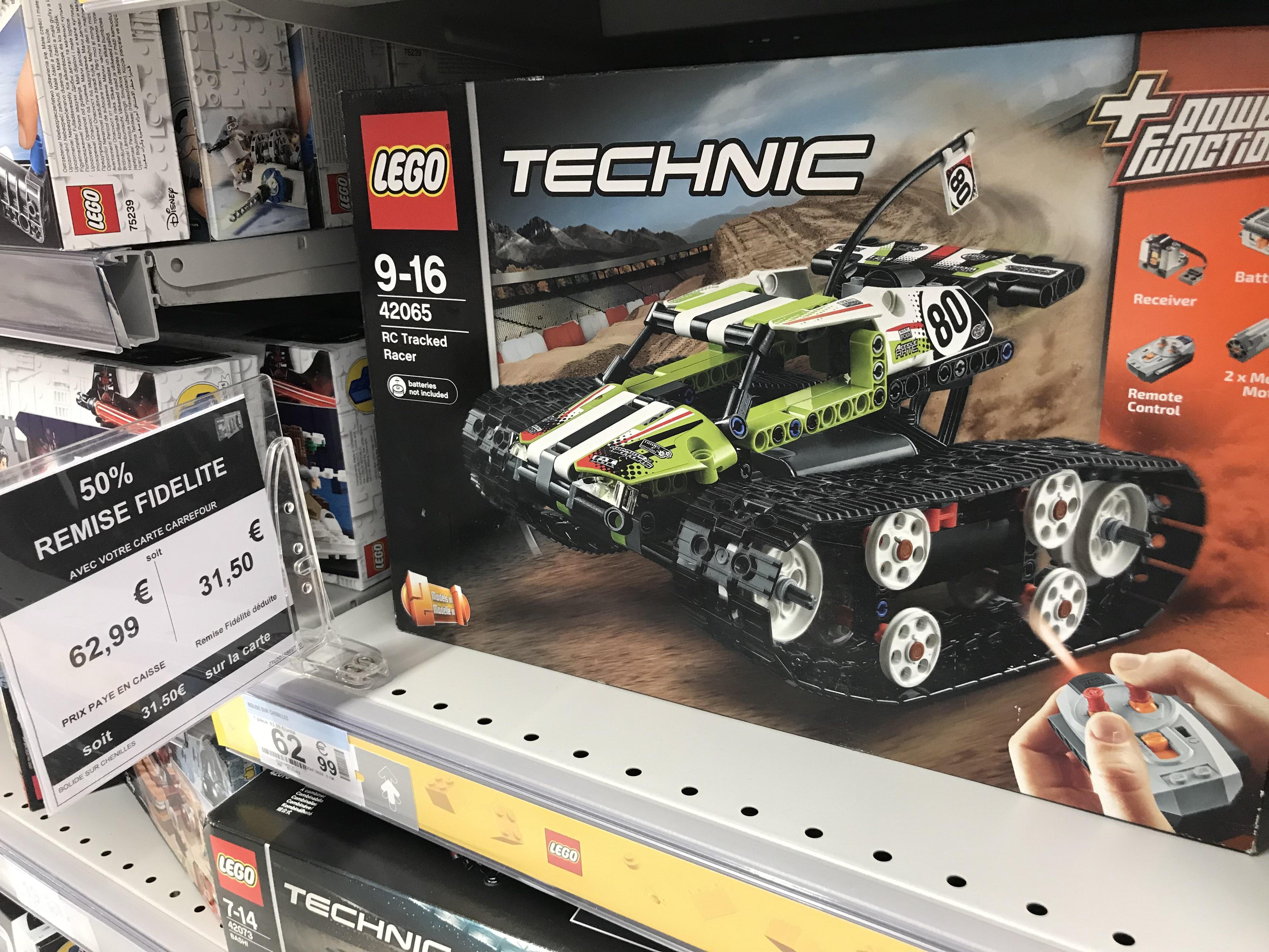 Jeu de construction Lego Buggy radio-télécommandé n°42065 - Carrefour Riquier/Nice (06)