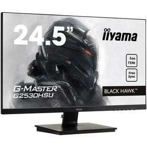 "Ecran PC 24.5"" Iiyama G-Master Black Hawk G2530HSU-B1 - Full HD, Dalle TN, 75 Hz, 1 ms, FreeSync"