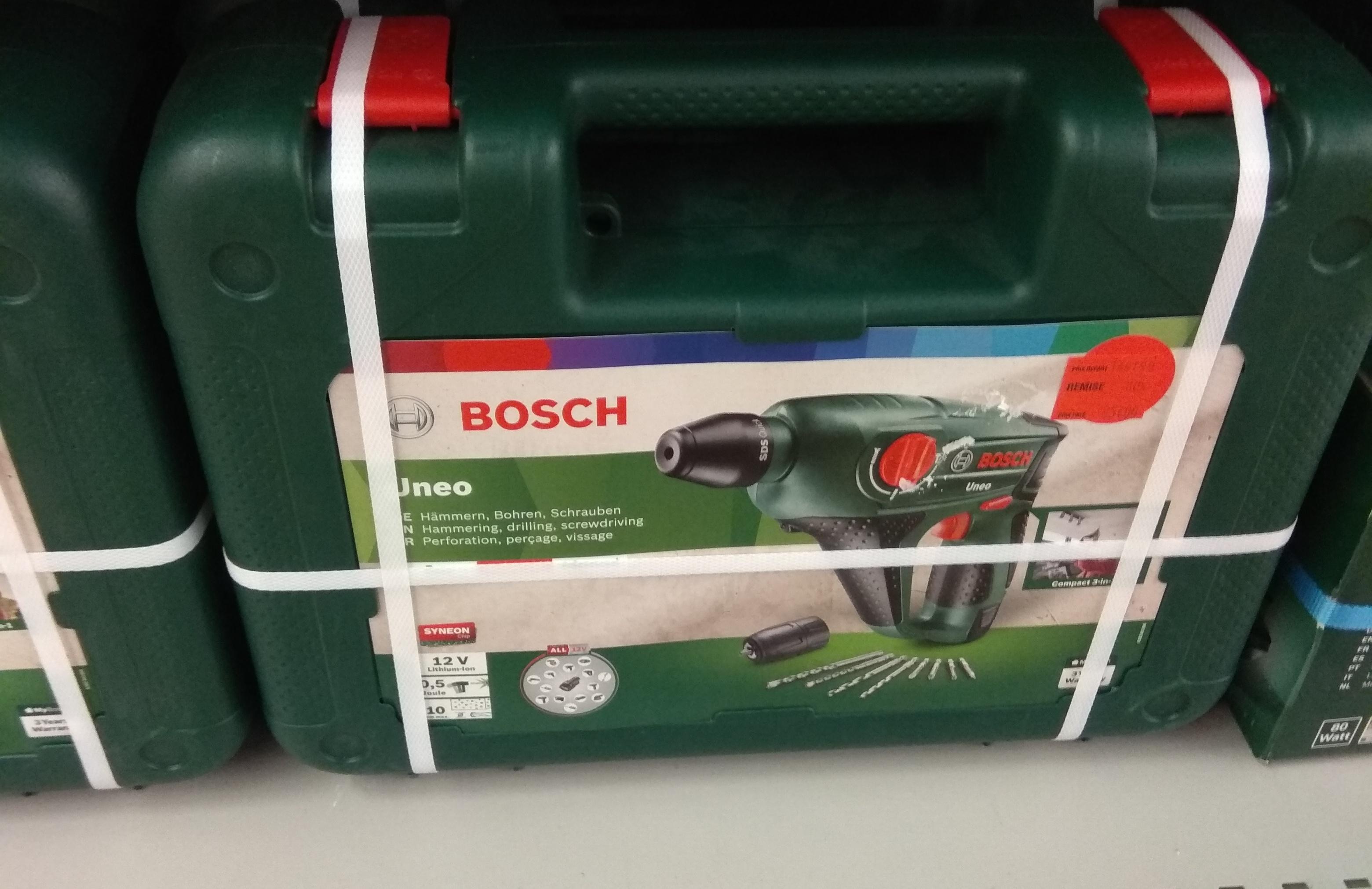 Perforateur sans fil 12V Bosch Uneo - Carrefour de Charleville-Mézières (08)