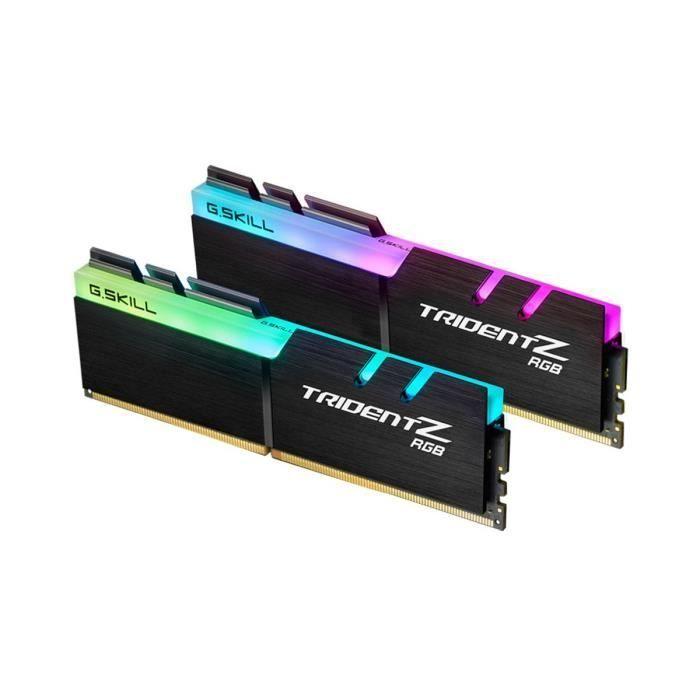 Kit mémoire RAM G.Skill Trident Z RGB 16Go (2x8Go) - DDR4, 3200, CL16