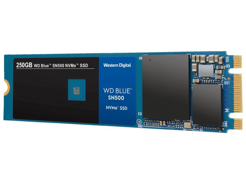 SSD interne NVMe Western Digital WD Blue SN500 - 250 Go (Frontaliers Allemagne)