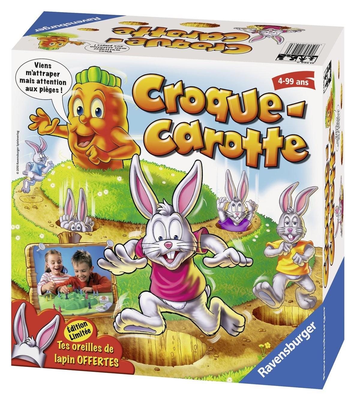 3 jeux de société Croque Carotte + Ramses + MouthFull (via ODR 20 € et 25€ fidélité)