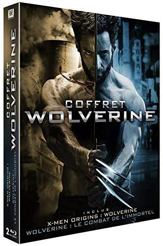 Coffret Blu-ray - X-Men Origins: Wolverine + Wolverine : Le combat de l'immortel