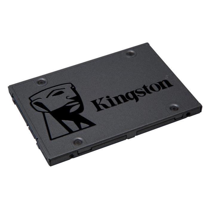 """SSD interne 2.5"""" Kingston A400 - 240Go (SA400S37/240G)"""
