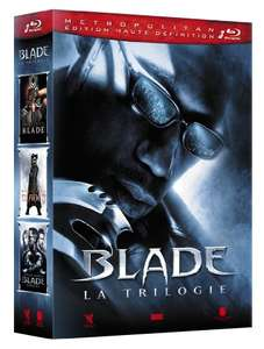Coffret Blu-Ray Blade - Trilogie