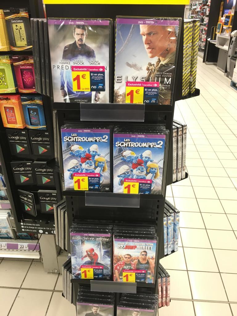 Sélection de DVD