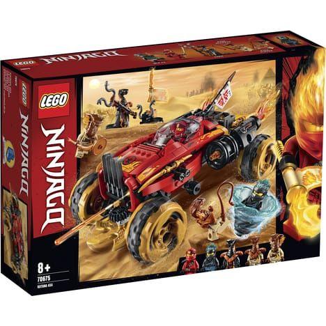 Jeu de construction Lego Ninjago n°70675 - Le 4x4 Katana (Via 9.98€ sur la Carte de Fidélité)