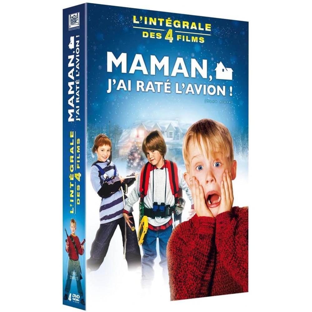 Coffret DVD Maman j'ai raté l'avion (4 films)