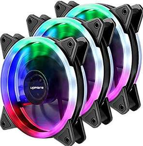 Lot de 3 Ventilateurs PC 120mm upHere F03 - RGB (vendeur tiers)