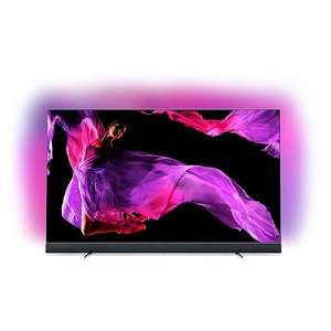 """TV Philips OLED TV 55"""" Philips 55OLED903 - OLED, UHD 4K, HDR, Ambilight, Android TV, Barre de son integrée"""