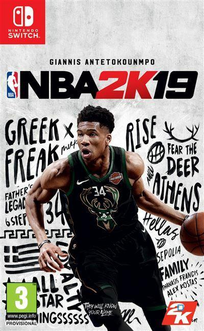 NBA 2K19 sur Nintendo Switch
