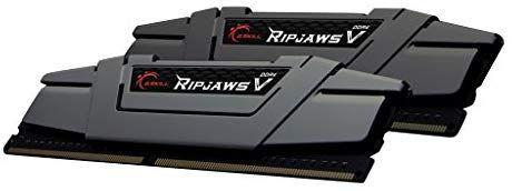 Kit mémoire Ram DDR4 G.Skill Ripjaws V K2 16 Go (2x8 Go) - 3200 MHz, CL16