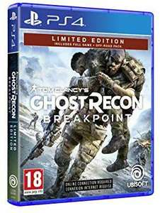 Tom Clancy's Ghost Recon Breakpoint Edition Limitée sur PS4 - Import UK (Frais de port inclus)