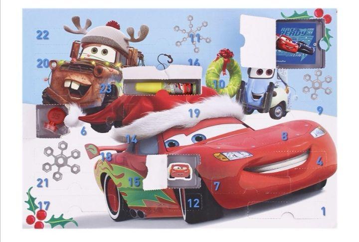 Calendrier de l'avent Disney (Cars / Reine des neiges / Pat patrouille)