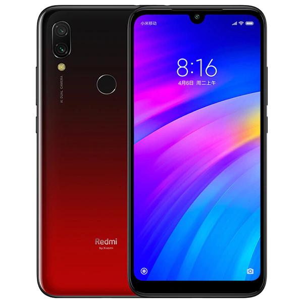 "Smartphone 6.26"" Xiaomi Redmi 7 - 3 Go RAM, 32 Go ROM, Rouge"