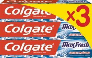 Lot de 3 dentifrices colgate (via BDR de 0,6€ et 3,03€ sur le compte de fidélité)