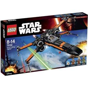Jouet Lego Star Wars 75102 - Poe's X-Wing Fighter (Reconditionné)